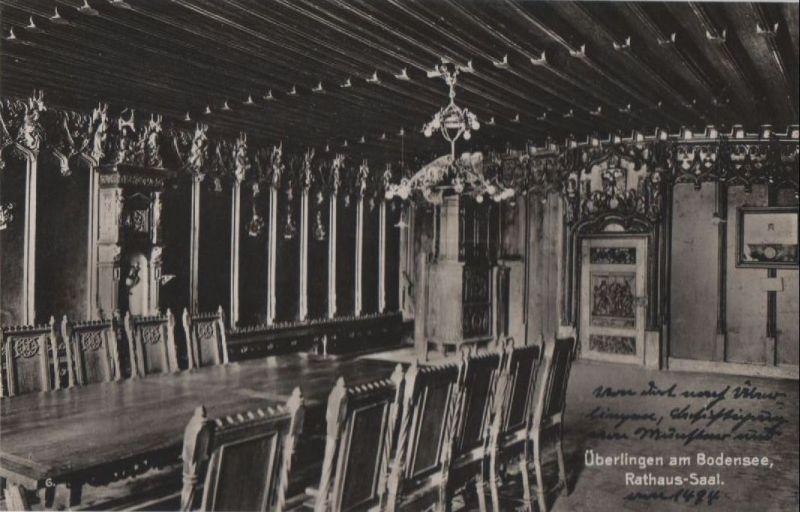 Überlingen - Rathaus-Saal - ca. 1935 0