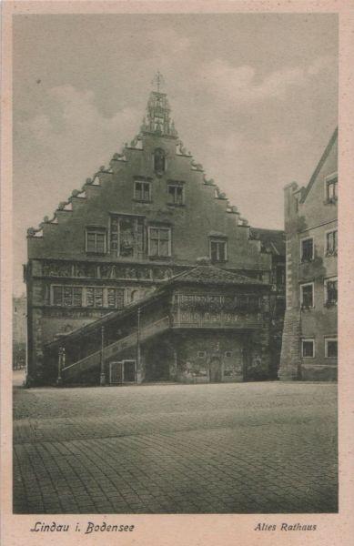 Lindau - Altes Rathaus - ca. 1935 0