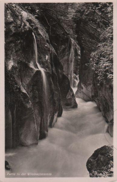 Wimbachklamm - ca. 1955 0