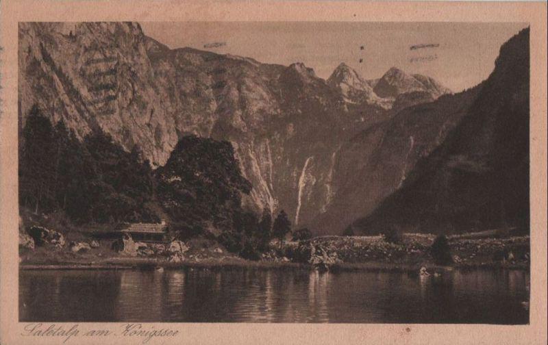Königssee - Saletalp - 1927 0