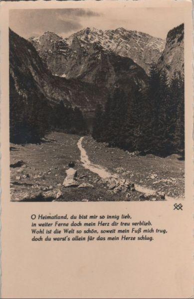 Berglandschaft - ca. 1950 0