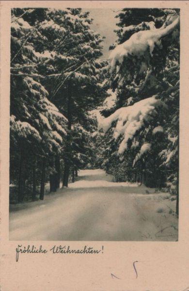 Fröhliche Weihnachten - ca. 1950 0