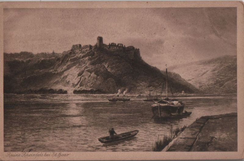 Sankt Goar - Ruine Rheinfels - ca. 1935 0