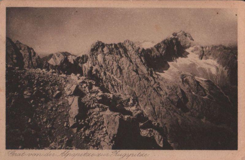 Alpspitze - Grat zur Zugspitze - ca. 1935 0