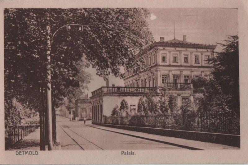 Detmold - Palais - ca. 1935 0