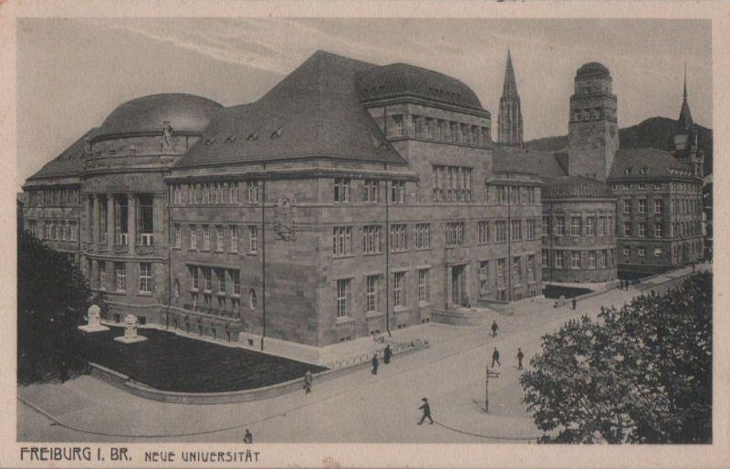 Freiburg - Neue Universität - ca. 1930 0