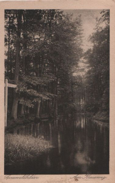 Spreewald - Am Kreuzweg - 1927 0