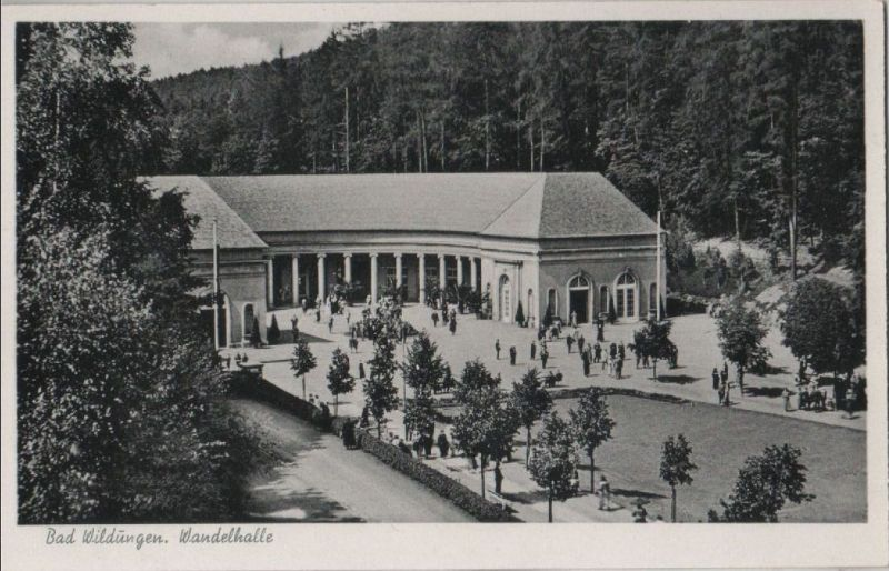 Bad Wildungen - Wandelhalle - 1954 0