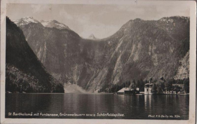Königssee - mit Bartholomä - 1935 0