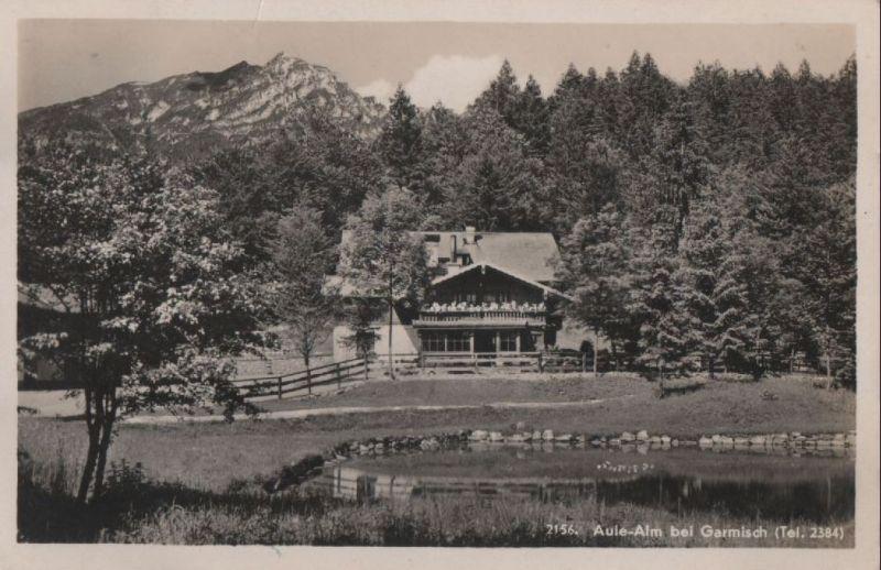 Garmisch-Partenkirchen - Aule-Alm - 1933 0