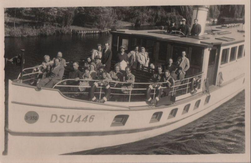 Schiffsausflug - ca. 1950 0