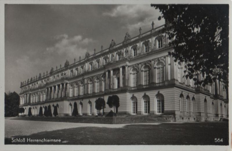 Herrenchiemsee - Schloß - ca. 1955 0