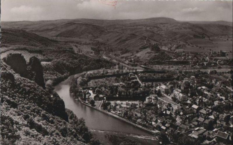 Bad Münster am Stein-Ebernburg - Blick von der Gans - 1958 0