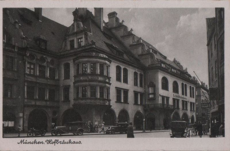 München - Hofbräuhaus - ca. 1955 0