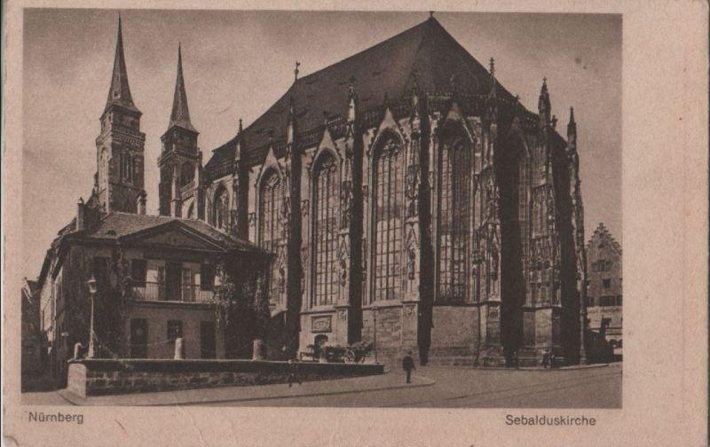 Nürnberg - Sebalduskirche - ca. 1935 0