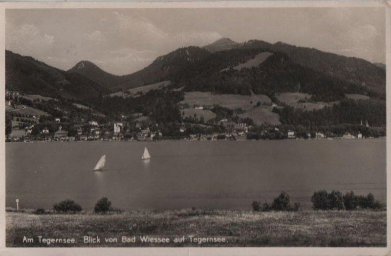 Tegernsee - Blick von Bad Wiessee - 1938 0