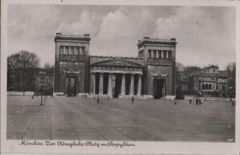 München - Der Königliche Platz - ca. 1955 0