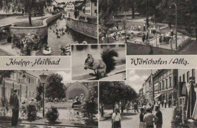 Bad Wörishofen - 4 Teilbilder - 1951 0