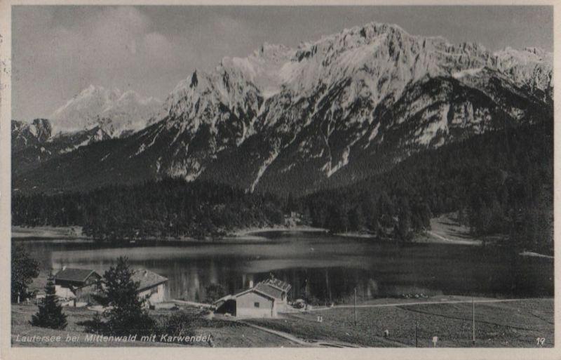 Mittenwald - Lautersee - 1937 0