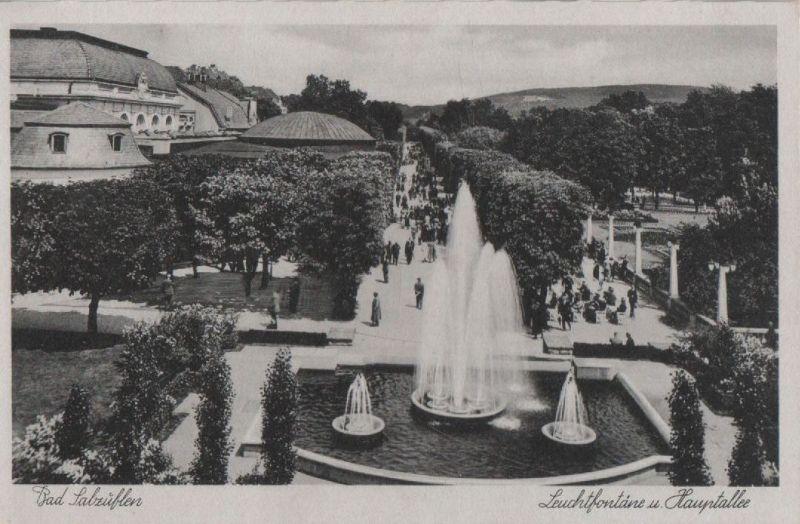 Bad Salzuflen - Leuchtfontäne - ca. 1950 0