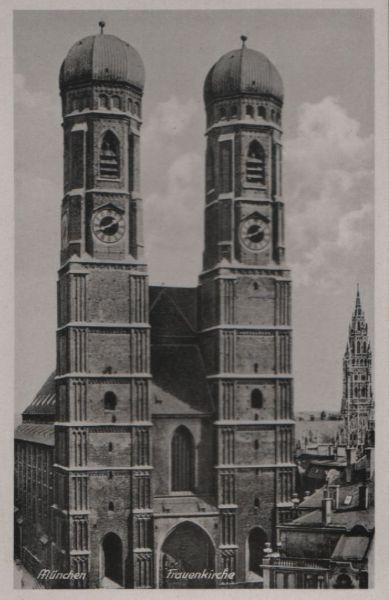 München - Frauenkirche - ca. 1955 0