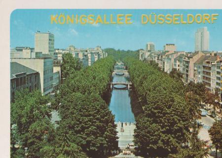 Düsseldorf - Königsallee - ca. 1985 0