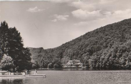 Bad Lauterberg - Wiesenbeker Teich - ca. 1955 0