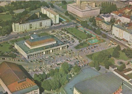 Karlsruhe - Festhallenplatz Luftbild - ca. 1975 0