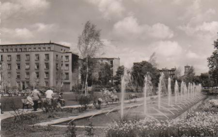 Karlsruhe - Festplatz Wasserspiele - 1960 0