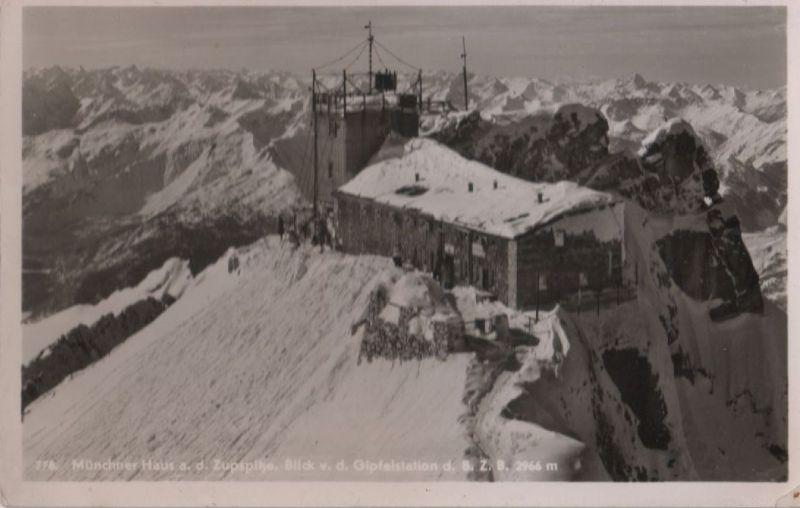 Zugspitze - Münchner Haus - 1950 0