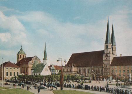 Altötting - Kapellplatz - 1962 0