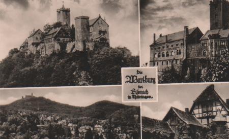 Wartburg in Eisenach - 1957 0