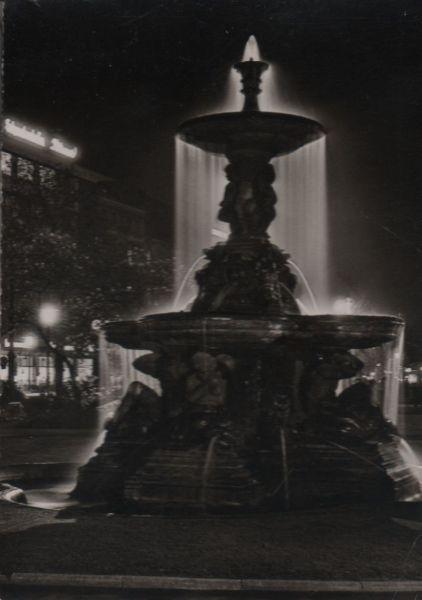 Düsseldorf - Schalenbrunnen am Corneliusplatz - 1961 0