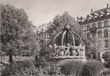 Karlsruhe - Gutenbergplatz - 1968 0