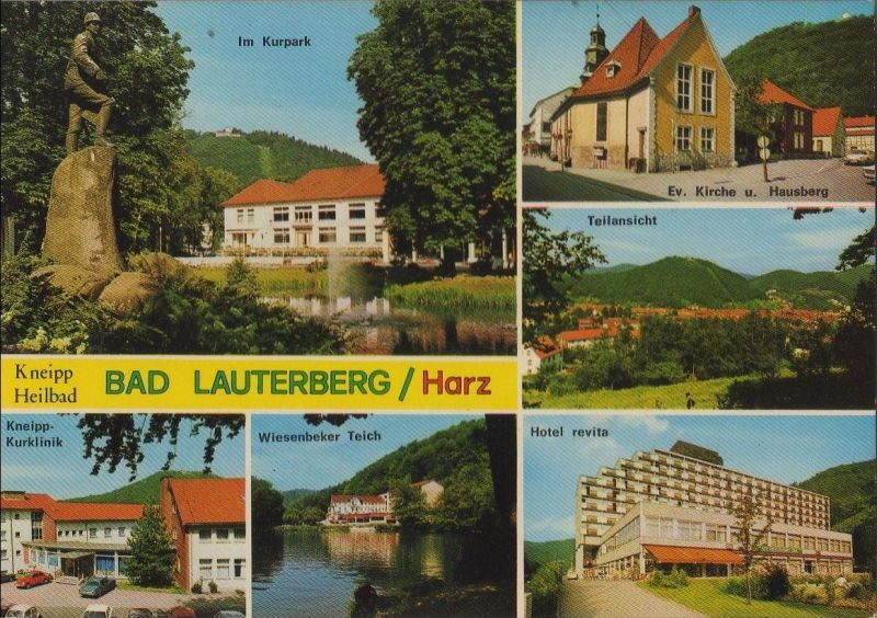 Bad Lauterberg - u.a. Hotel revita - ca. 1985 0