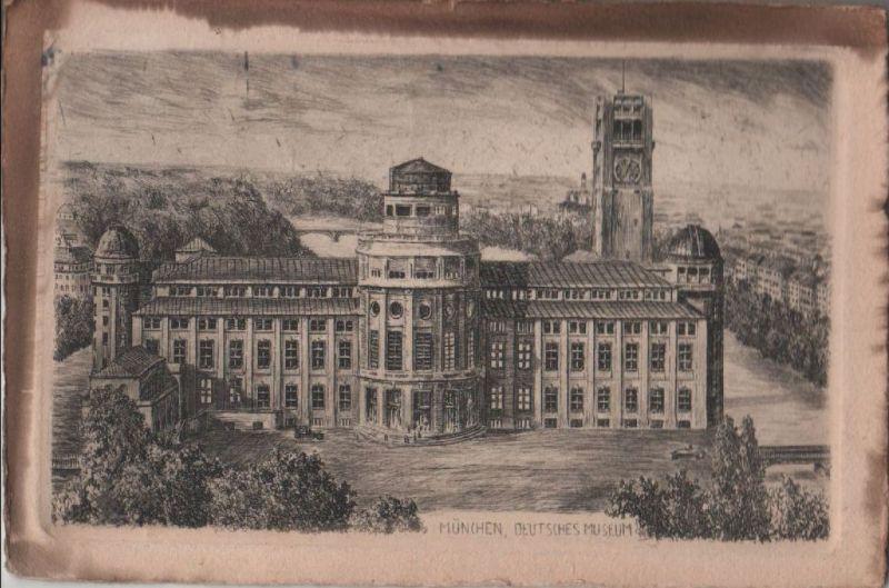 München - Deutsches Museum - 1929 0