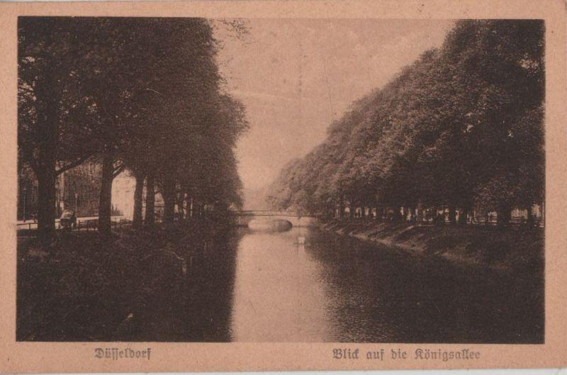 Düsseldorf - Blick auf die Königsallee - ca. 1935 0