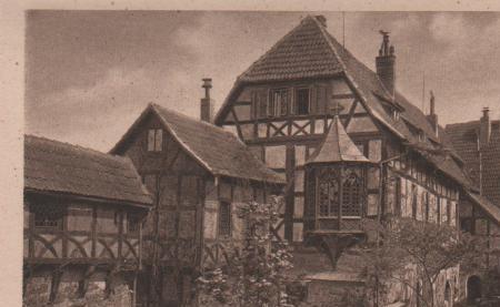 Eisenach - Wartburg - Vorderer Burghof - ca. 1935 0