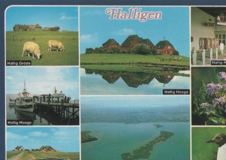 Hooge - Hallig Gröde und andere Halligen - ca. 1985