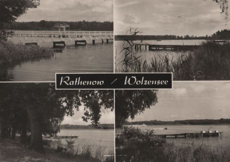 Rathenow - Wolzensee - 1969