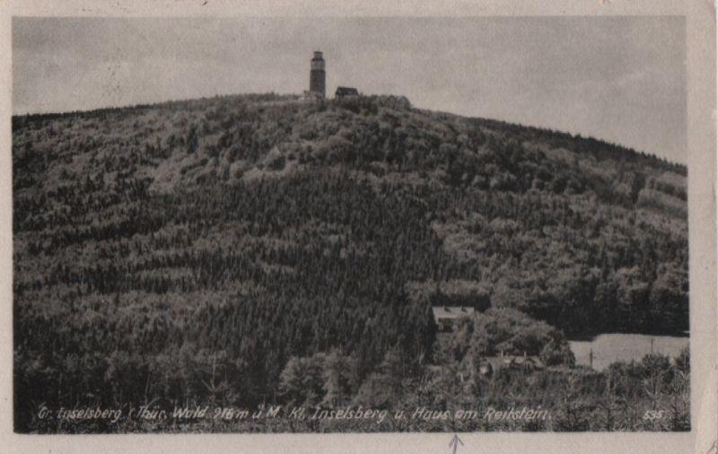 Inselsberg - mit Haus am Reitstein - 1953