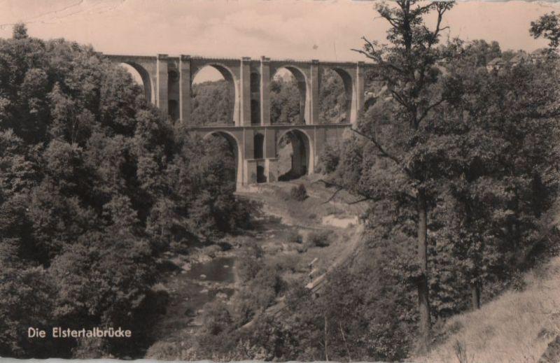 Vogtland - Elstertalbrücke - 1964