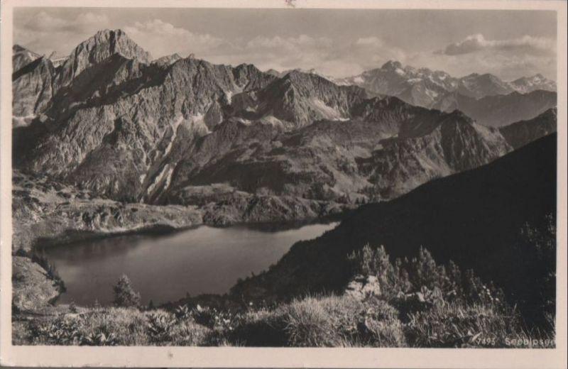 Seealpsee - beim Nebelhorn - 1953
