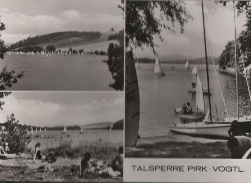 Talsperre Pirk - 3 Teilbilder - 1979