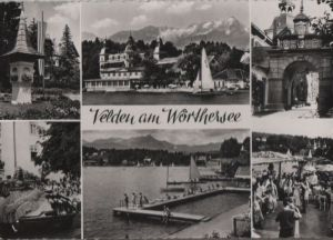 Österreich - Österreich - Velden - 6 Teilbilder - 1957