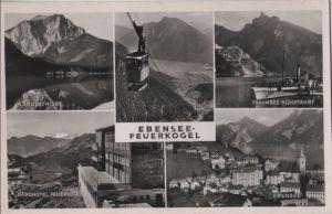 Österreich - Österreich - Ebensee - Feuerkogel, u.a. Seilbahn - ca. 1960