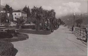 Schweiz - Schweiz - Locarno - Quai Motta - ca. 1955