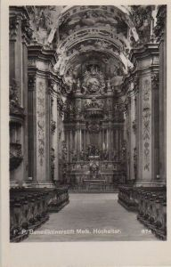 Österreich - Österreich - Melk - Benediktinerstift, Hochaltar - ca. 1955
