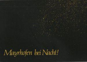 Österreich - Österreich - Mayrhofen - bei Nacht - ca. 1985