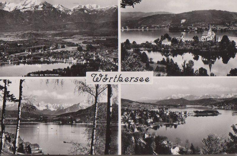 Österreich - Österreich - Wörthersee - u.a. Velden - ca. 1960